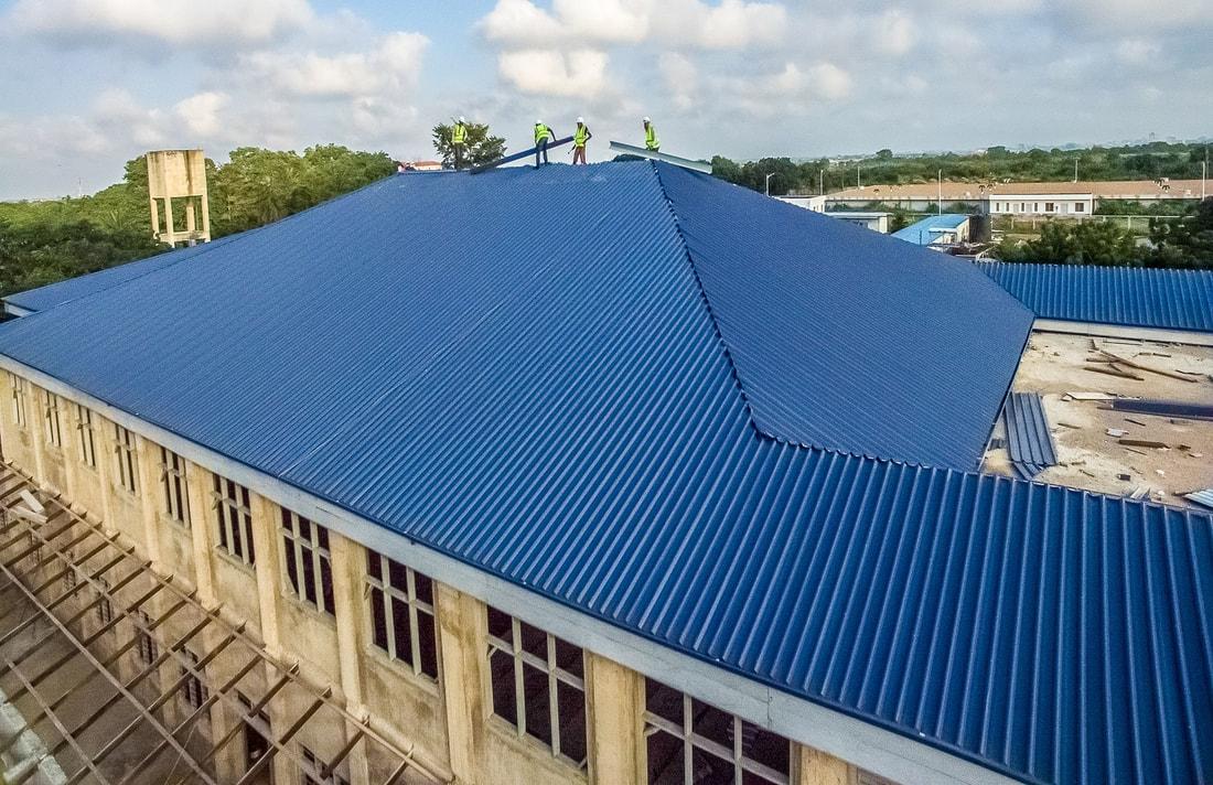Long Span Rib Roof Sheehan Inc